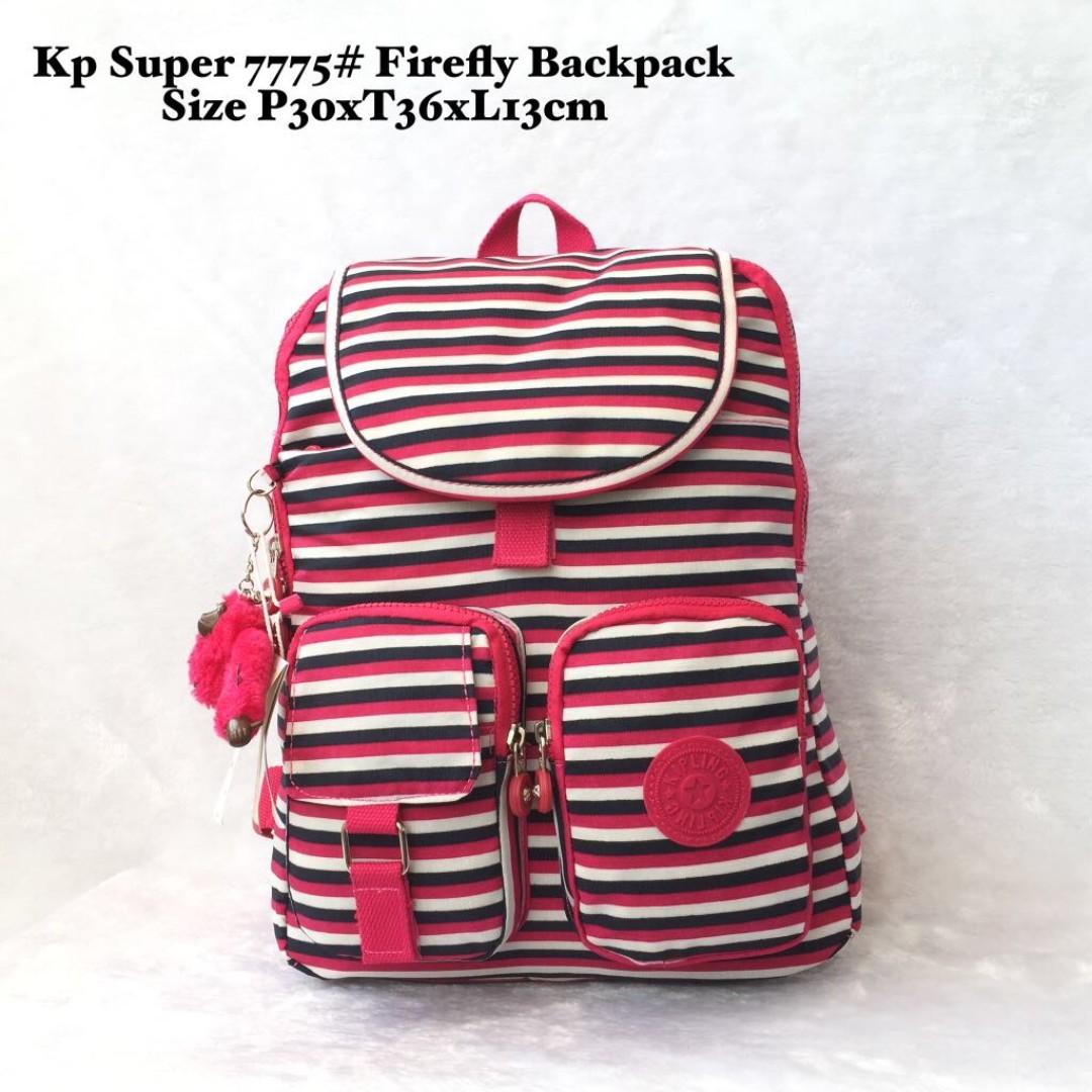 Tas Wanita Import Kipling Super Firefly Backpack 7775 - 10 d13aa8527e
