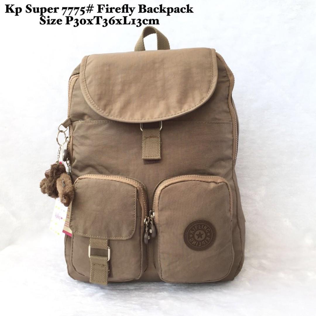 Tas Wanita Import Kipling Super Firefly Backpack 7775 - 8 e202fd9a1d