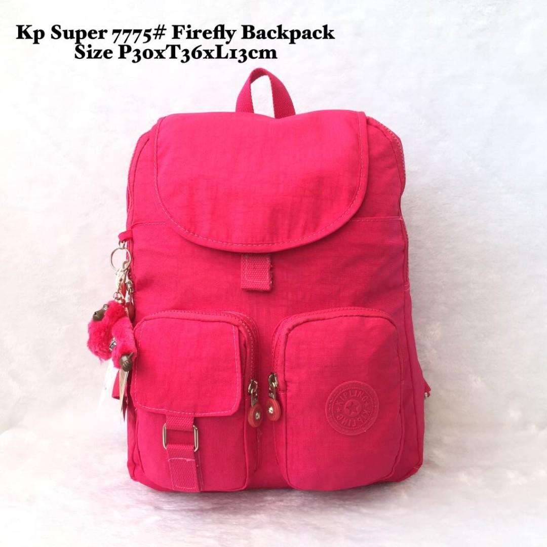 Tas Wanita Import Kipling Super Firefly Backpack 7775 - 9 5d1c38fd7b