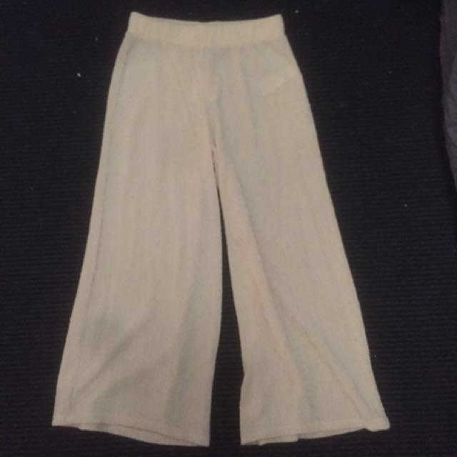 Topshop wide leg trousers