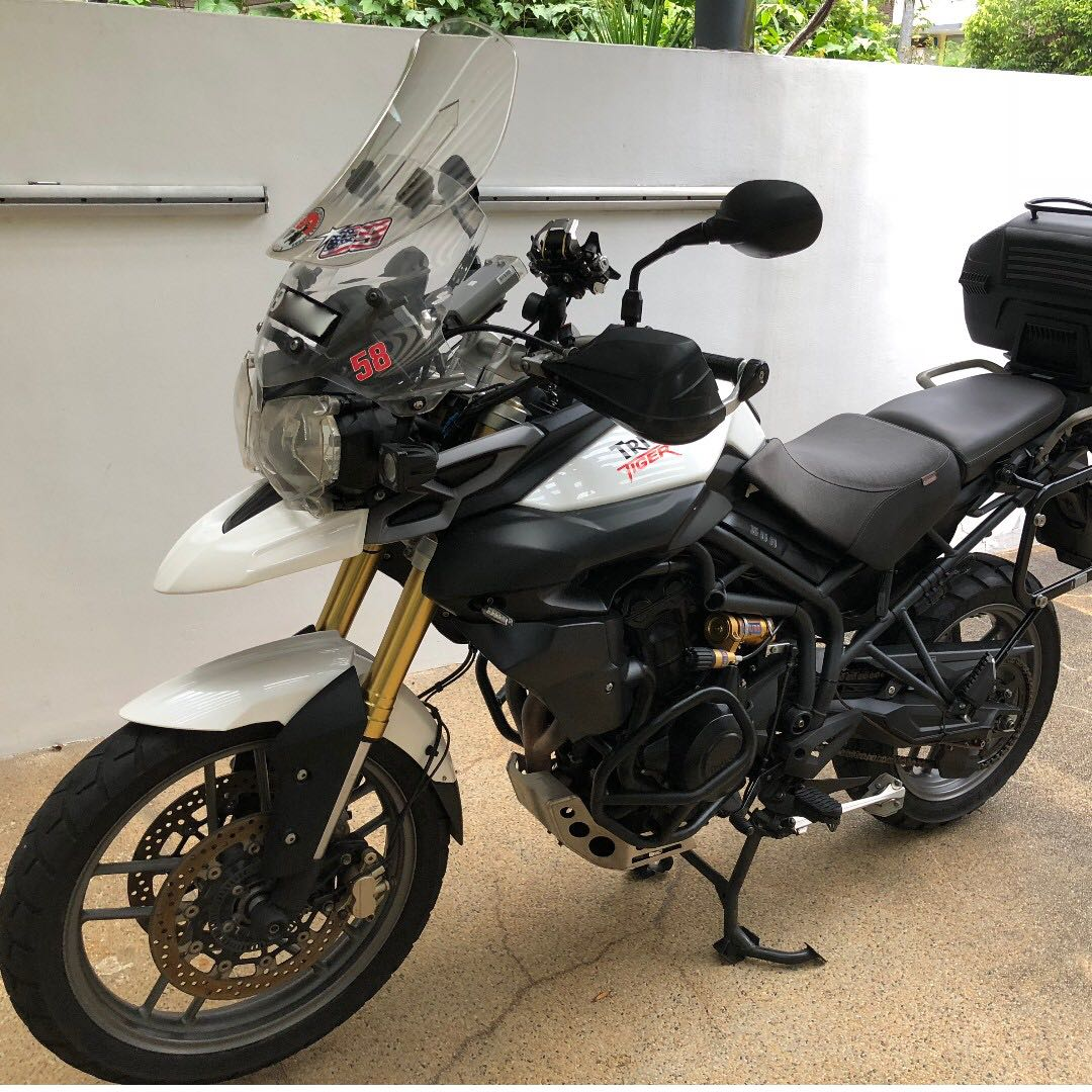 Triumph Tiger 800 Motorbikes Motorbikes For Sale Class 2 On Carousell