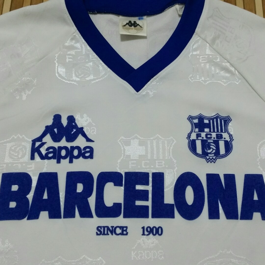 de2148d347b vintage jersey 90's fc barcelona (fans version), men's fashion