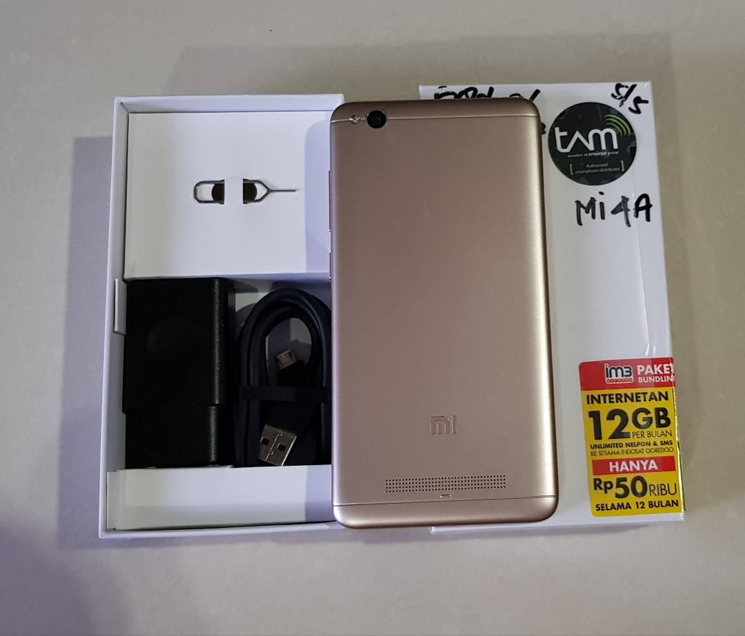 Xiaomi Redmi 4a Ex Garansi Resmi Tam Mobile Phones Tablets On 2 32 Carousell