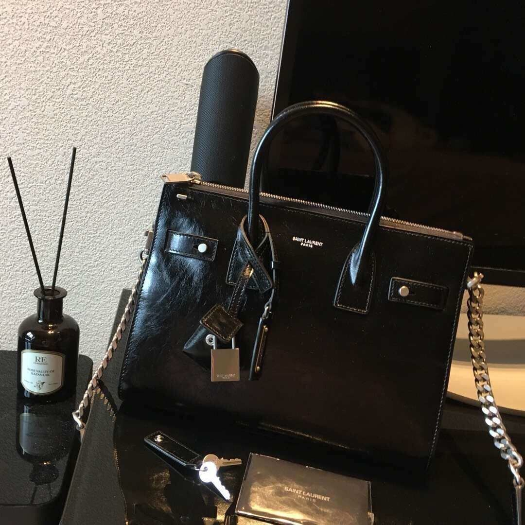 204dcb860c0 YSL tote bag on sale sac de jour souple duffle italty item, Luxury, Bags &  Wallets on Carousell