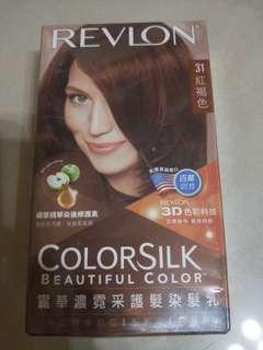 🚚 露華濃 染髮 紅褐色