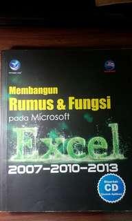 Buku Rumus & Fungsi Microsof Excell 2007-2010-2013