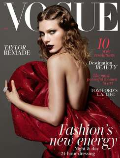 LF: Taylor Swift January 2018 Vogue Magazine