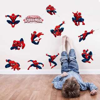 💥 Superheroes Amazing Spiderman Wall decal / wall stickers  / home deco