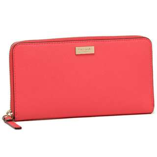 Kate spade Newbury lane red wallet brand new authentic