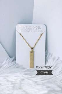 COD! Stainless Steel Necklace Cross