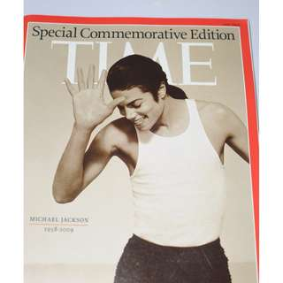Time magazine Michael jackson collector's edition