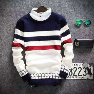 Sweater pria, Naza Red Tribal