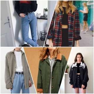 Looking For Vintage/ Korean Clothing