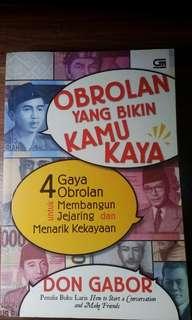 Buku Obrolan yang Bikin Kamu Kaya