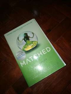 REPRICED!!! MATCHED - Ally Condie [Good as new!] [With plastic cover]