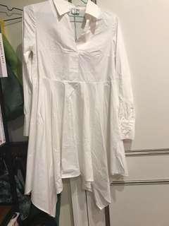 🚚 White long shirts 白長版襯衫
