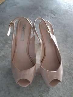 LYN Nude Heels