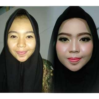 Makeup wisuda engagement dan lainnya