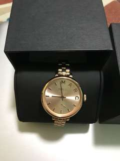 Authentic Marc Jacobs Rose Gold Watch