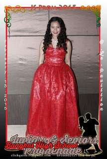 Red Ball Gown (RENT)