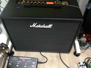 Marshall code 50 combo amplifier w/4 way footswitch
