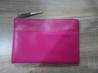 蘭蔻 粉紅零錢包
