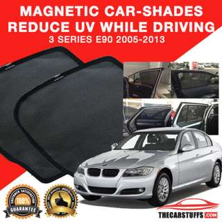 Worldwide Shipping - BMW E90 Magnetic Carshades