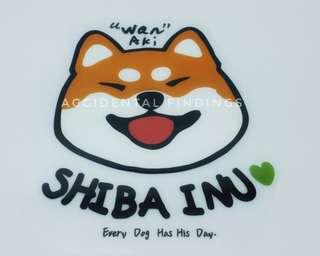 Iron-on decal Shiba Inu