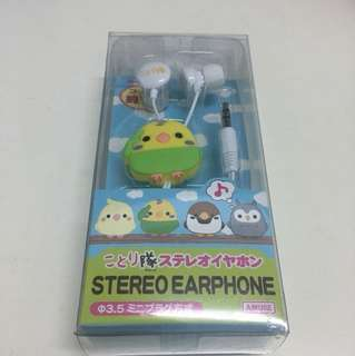 Kotori Tai Bird Stereo Earphone
