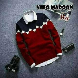 Sweater pria, Red Box
