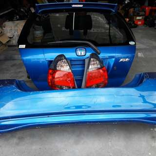 Honda Jazz GD1 Mugen Rear bodypart