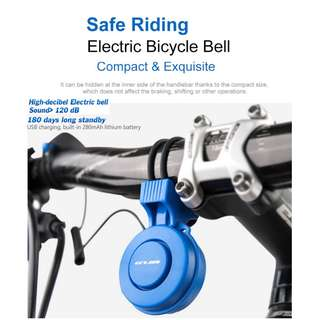 GUB Electric Bell USB Chargeable Waterproof for Escooters / Bicycles / Ebike