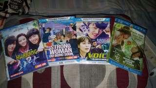 Dvd korea 4 judul per judul isi 4 keping @25rb