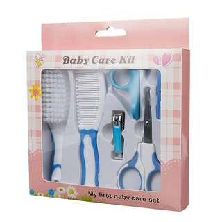 6 in 1 set baby brush and more