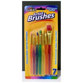 7pcs Artist Brushes
