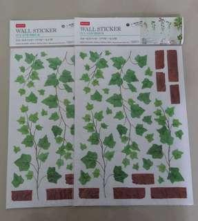 Wall sticker 35cm × 25cm (1pcs rm4)