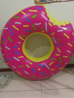 """Donut 50"""" inflatable pool float FREE SHIPPING"""