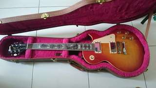 Gibson lespaul cherry sunburst 120 anniversary. Open swap with another's colour gibson lespaul usa