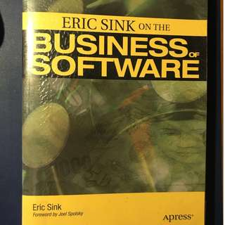 Eric Sink on the Business of Software #Blessing