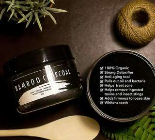28Street Activate, Bamboo Charcoal and Brighten