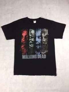 USA vintage-美國古著 Walking Dead 原版T