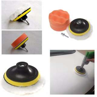 Polisher Kit for Bike or Car (Drill)