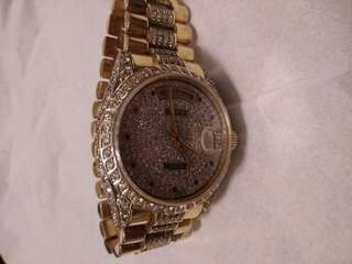 ROLEX day date all gold and diamond