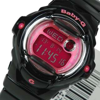 Best Priced Authentic Casio Baby-G ,  G-Shock BA-169R-1BDR pink black baby g , pink black g shock