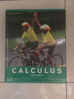 Textbook: Calculus