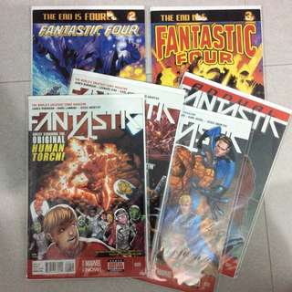 Fantastic four James Robinson set