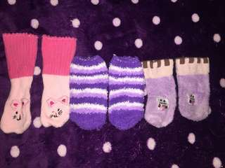 Baby socks set of 3-6m
