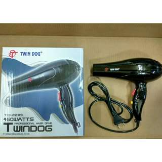 Hair Dryer Twin Dog 450 Watts