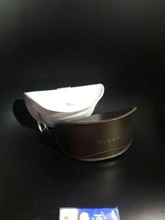 Gucci Dior box storage 眼鏡盒 $200 for 2