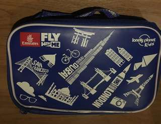 Emirates 'Fly with me' multifunction bag with holder